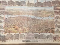 OLD PORTLAND POSTER 1890 Damascus, 97089