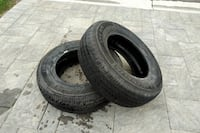 2 Michelin 255 70 R18 Tires For Sale  London