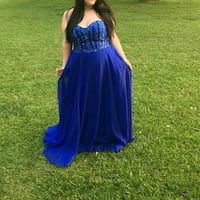 Plus size blue prom dress Mobile, 36607