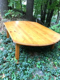 Real pine wooden coffee table Toronto, M3J 2X8