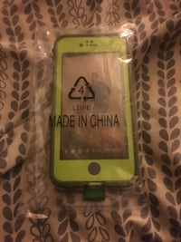 Lime Green Camo iPhone 6s Lifeproof Fre Case
