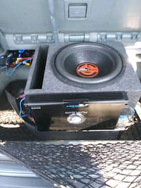 3000 watt quantum audio sub with box Philadelphia