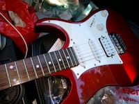 Red Stratocaster Ibanez electric guitar Houston, 77092