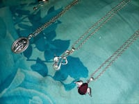 925 silver necklaces with charms Long Beach, 90804