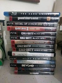 Games $2 each $5 for blue ray dvd all for 25 Merced