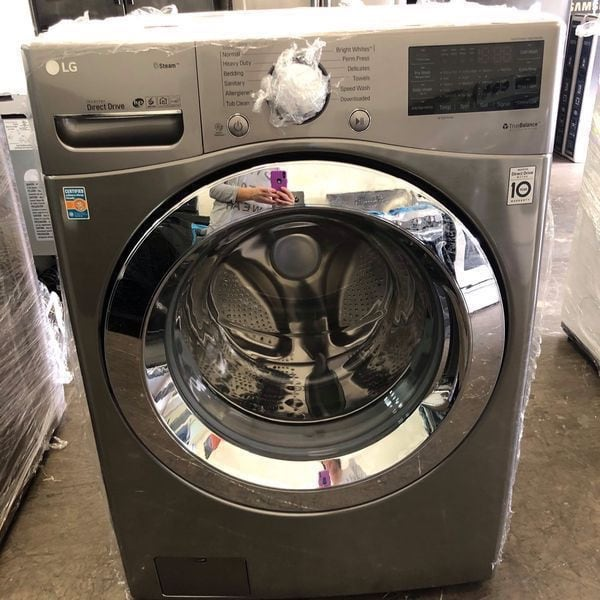 Front Load Washer Washing Machine Lavadora 4.5Cu. Ft Home Appliance