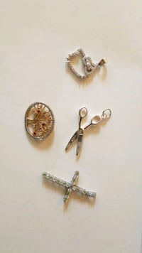 NEW CHARMS 925 SS comes with matching chain Webster, 14580