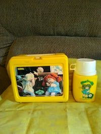 1985 cabbage patch kids lunchbox n thermos Hedgesville