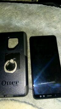 black and gray Otter Box iPhone case Vancouver, V5K 2T8