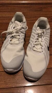 pair of white adidas running shoes Montgomery Village, 20886
