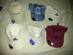 Brand new unisex hats authentic Adidas $10 each on