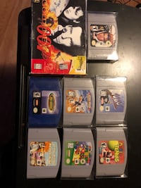 N64 games for sale Edmonton, T5B 0E4
