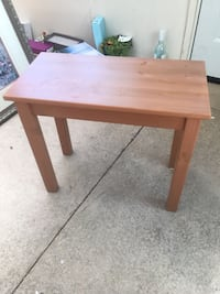 Solid Wood Side Table  St Catharines, L2T 1L8