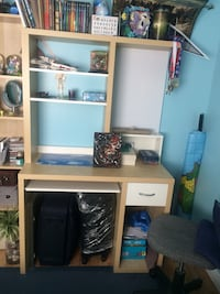 Desk and Book case bundle  London, N5X 3L6