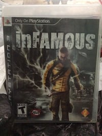 Infamous  ps3 game Livingston, 95334