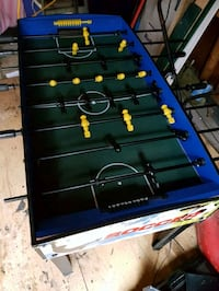 blue and black foosball table Vaughan, L4L 4A4