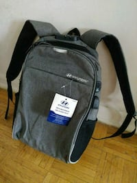New Hyundai Tech Backpack with USB Charging Port.