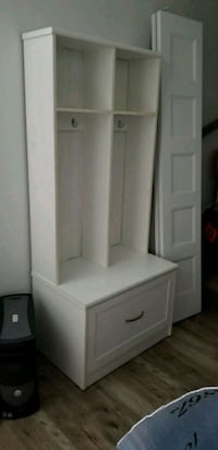 white wooden cabinet with mirror Boisbriand, J7G 2T7