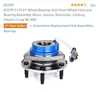 Wheel bearing hub assembly  Boynton Beach, 33436