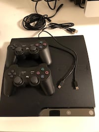 PS3 with remote, band hero, tony hawks and 8 more games Calgary, T3H