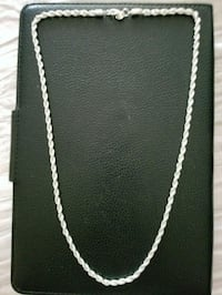 24inch - 92.5% - sterling silver necklace Ontario, 91761