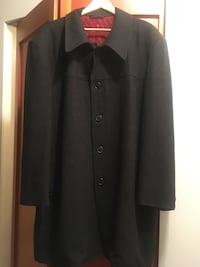 Giorgio Armani wool cashmere over coat XXL