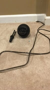 Black and gray corded computer mic Hanover, 21076