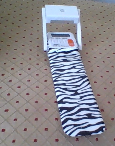 Zebra Printed Digital Mark My Time Bookmark And Reading Timer