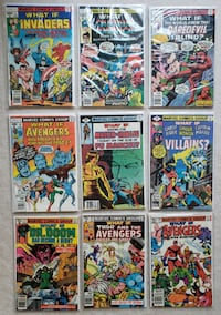 What If? (1st series) comic lot (9) Mount Airy