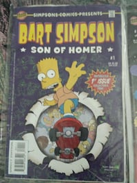 Bart Simpson son of homer comic book Abbotsford, V2T 6M6