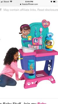 Doc McStuffins toy Hospital checkup Center