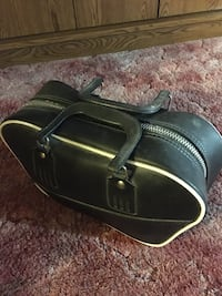 Duckpin bowling ball bag and shoes