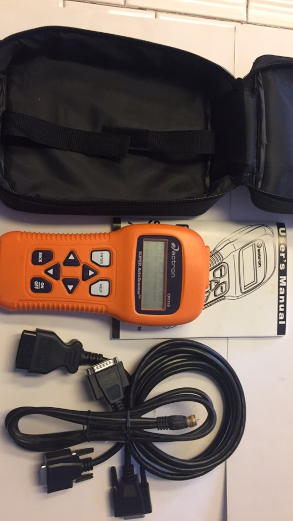 actron cp9145 scanner update