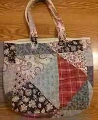 Cloth tote handmade from jamica