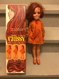 1970's crissy doll with box, good condition  Hamilton, L8J 0H8