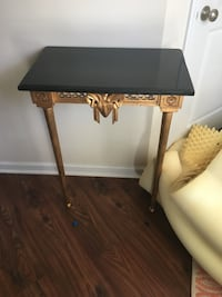 Gold leaf and granite countertop table- attaches to wall Charleston, 29455