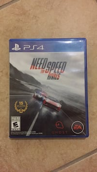 Need for speed rivals ps4 game case Amarillo, 79107