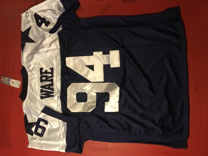 Brand new, Throwback DeMarcus Ware Dallas Cowboys Men's NFL Jersey 50763f5c-e721-48dd-b4b2-913499a101be