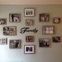 assorted photo frames and decors YUCAIPA