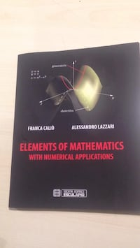 Elements of mathematics with numerical applications Milan, 20123