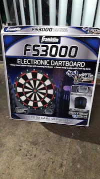 black and white and blue and white dartboard West Valley City, 84119