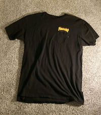 Thrasher x Van's Collab Pocket Tee Winnipeg, R2K 1R7