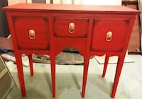 Beautiful Unique Buffet Table (Solid Wood) Leesburg