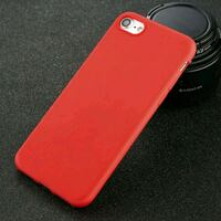 Red Thin silicone rubber iphone cover Kirkland, H9H 5A6