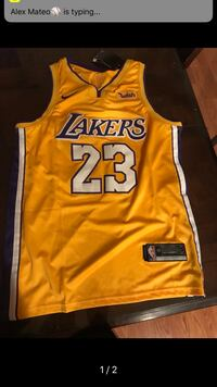 yellow and black Lakers 24 jersey Hialeah, 33015