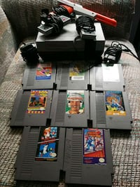 NES with 8 Games, 2 Controllers etc Surrey, V3R 6X4