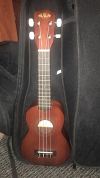 Brown ukulele with case Phoenix, 85017