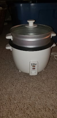 Elite 8 Cup Rice Cooker with Steamer Attachment St. Catharines