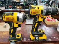 DEWALT 20-Volt Max 2-Tool Brushless Power Tool Combo Kit