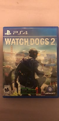 Watch Dogs 2 PS4 game case Silver Spring, 20906